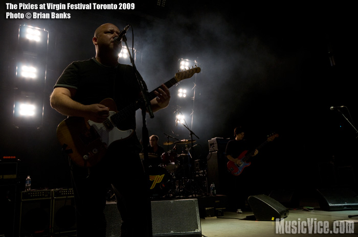 The Pixies at Virgin Festival Toronto 2009 - photo by Brian Banks, Music Vice
