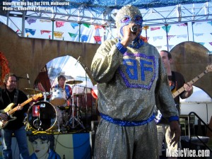 Blowfly at Big Day Out 2010, Flemington Racecourse, Melbourne - photo by Kimberley Paterson for Music Vice