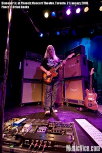 Dinosaur Jr. at Phoenix Concert Theatre, Toronto, 21 January 2010 - photo by Brian Banks, Music Vice