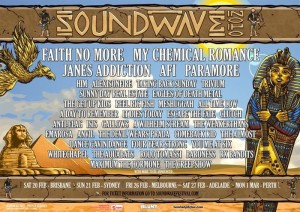 Soundwave festival 2010, Australia