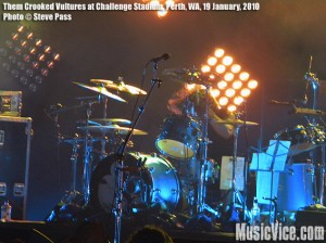 Them Crooked Vultures with the Novocaines, Challenge Stadium, Perth, Western Australia, 19 January, 2010 – Show Review and Photos