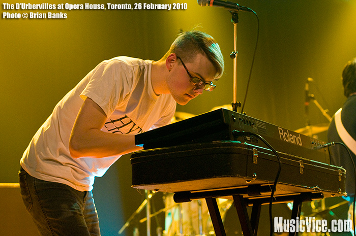 The D'Urbervilles at the Opera House, Toronto, 26 February 2010 - photo by Brian Banks, Music Vice