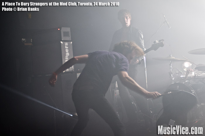 A Place To Bury Strangers at the Mod Club, Toronto, 24 March 2010 - photo by Brian Banks, Music Vice
