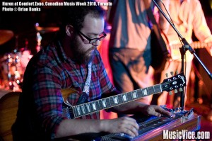Huron at Canadian Music Fest, Canadian Music Week 2010, Toronto - photo by Brian Banks
