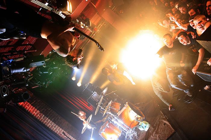The Dillinger Escape Plan, live in Paris 10 Feb 2010