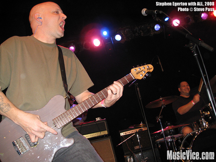Stephen Egerton Interview – ALL/Descendents guitarist discusses his upcoming solo album