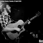 Dan Mangan at Horseshoe Tavern, Toronto, 22 April 2010 - photo by Brian Banks, Music Vice