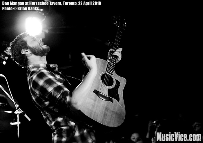 Dan Mangan at Horseshoe Tavern, Toronto – Gig review and photos