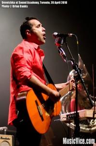 Devotchka at Sound Academy, Toronto, 20 April 2010 - photo by Brian Banks, Music Vice