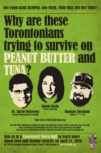 Damian Abraham helps spotlight hunger and poverty in Toronto