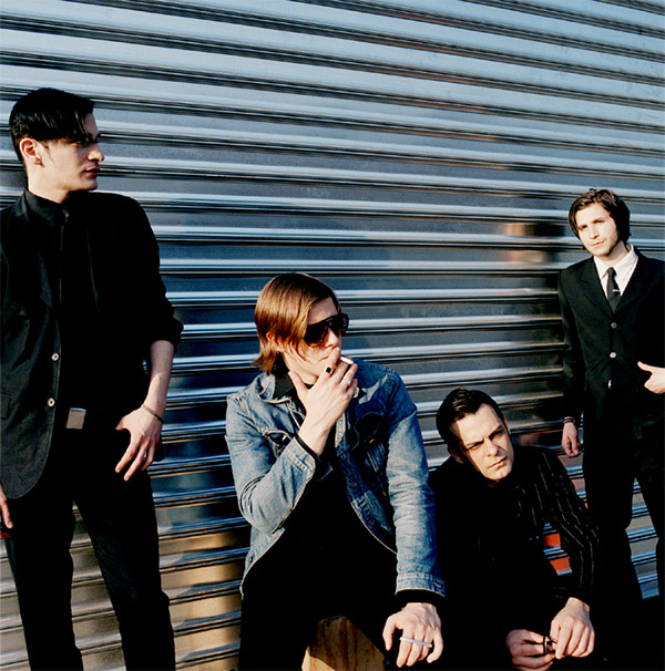 Interpol - promo photo by Pieter van Hattem