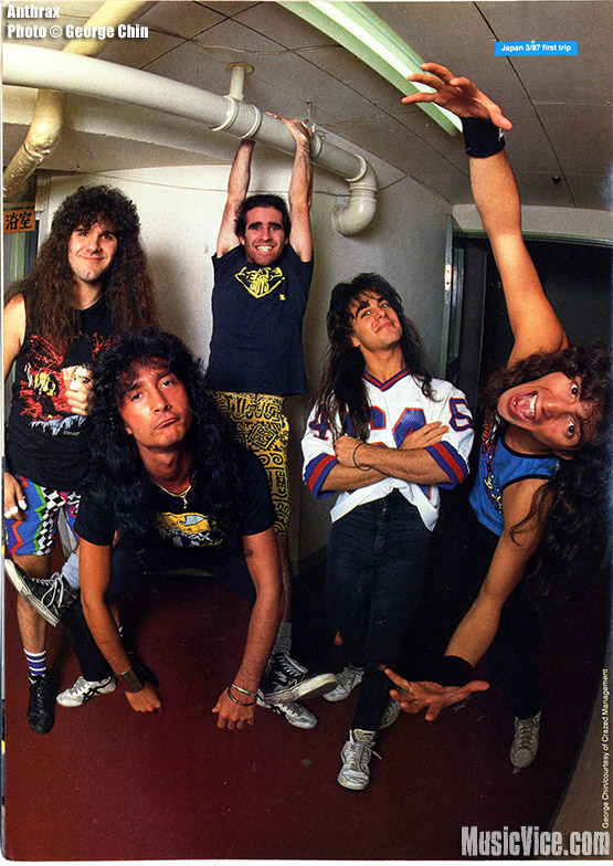 Joey Belladonna rejoins Anthrax for Sonisphere festival and new album