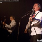 Pete Shelley and Steve Diggle of the Buzzcocks (Le National, Montreal, 18 May 2010) - photo by Liz Keith, Music Vice