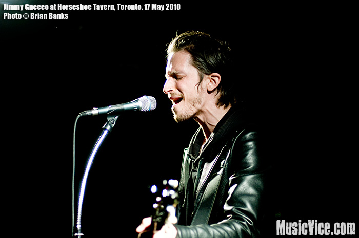 Jimmy Gnecco at Horseshoe Tavern, Toronto – Gig review and photos