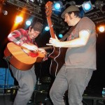 Joey Cape and Tony Sly playing at Amplifier Bar, Perth, Western Australia, 19 May 2010 - photo by Steve Pass, Music Vice