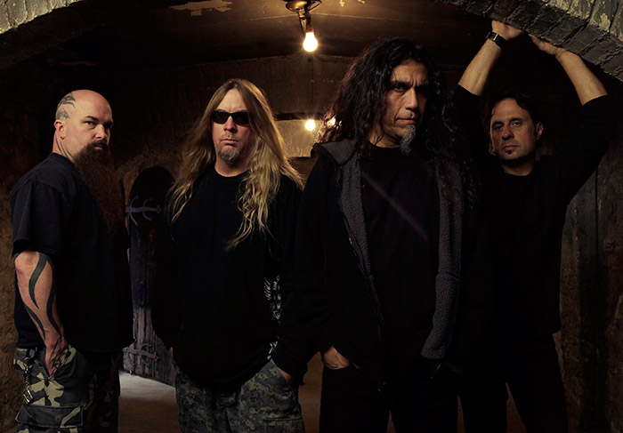 Slayer group picture - photo by Mark Seliger