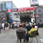 Crowd at Dundas Square, Toronto, NXNE 2010 - photo by Brian Banks, Music Vice