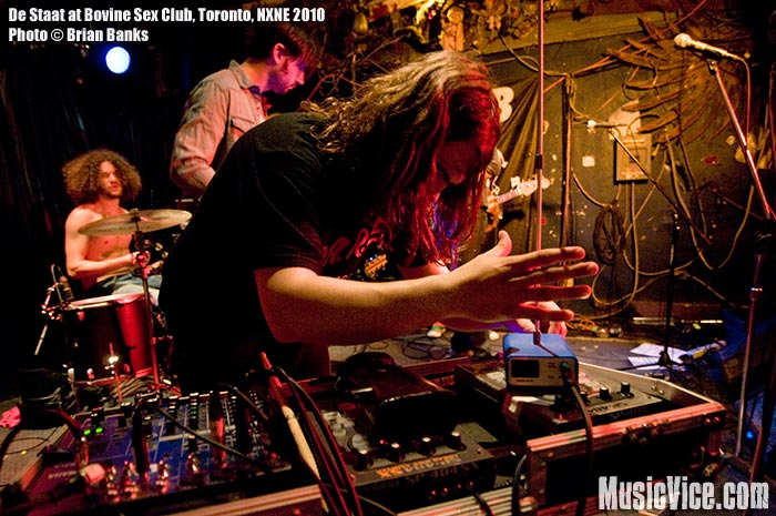 De Staat at Bovine Sex Club, Toronto, NXNE 2010 - photo by Brian Banks, Music Vice
