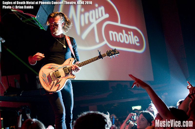 Eagles of Death Metal at the Phoenix, Toronto, NXNE 2010 – Gig review and show photos