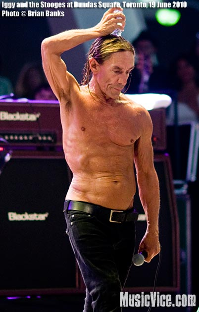 Iggy and the Stooges at Dundas Square, Toronto – Concert review and photos