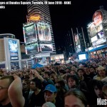 Iggy and the Stooges at Dundas Square, Toronto, NXNE, 19 June 2010 - photo by Brian Banks, Music Vice, all rights reserved