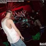 Kcavemen at Pony Bar, Melbourne, VIC, Australia, 5 June 2010 - photo by Michael Bowser, Music Vice