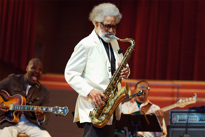 Sonny Rollins in concert - photo by Michael Jackson