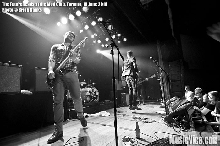 The Futureheads at the Mod Club Theatre, Toronto, 10 June 2010 - photo by Brian Banks, Music Vice