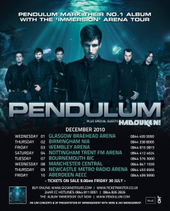 Pendulum announce biggest ever tour dates