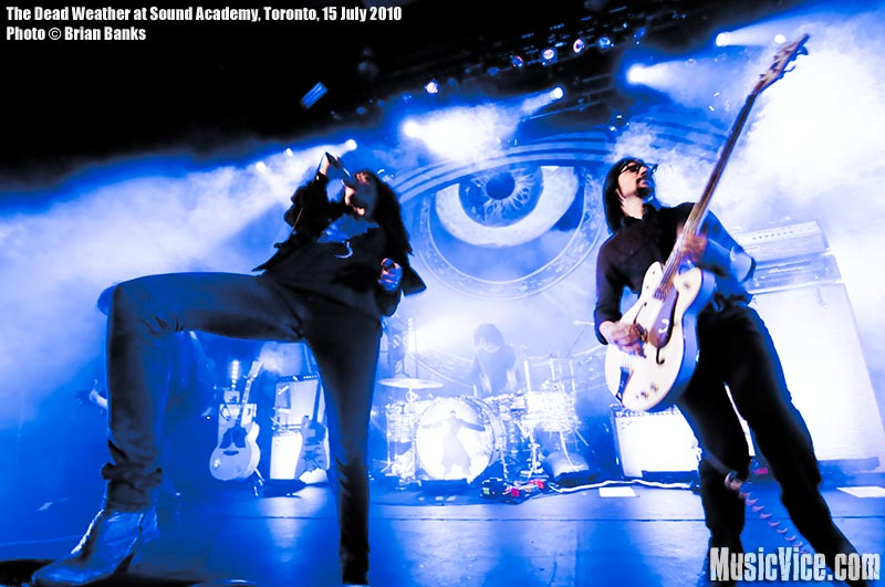 The Dead Weather at Sound Academy, Toronto, 15 July 2010 - photo by Brian Banks, Music Vice