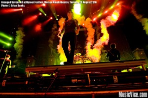 Avenged Sevenfold at Rockstar Uproar Festival at Molson Amphitheatre, Toronto, 25 August 2010 - photo by Brian Banks, Music Vice