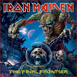 Iron Maiden 'The Final Frontier' album artwork