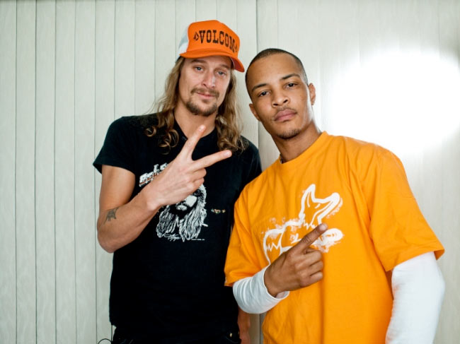 Kid Rock and T.I. - credit D. Nice