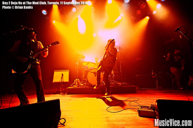 Day 2 Deja Vu at The Mod Club, Toronto, 11 September 2010 - photo by Brian Banks, Music Vice, all rights reserved