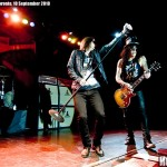 Myles Kennedy and Slash performing at Kool Haus, Toronto, 10 September 2010 - photo by Brian Banks, Music Vice, all rights reserved