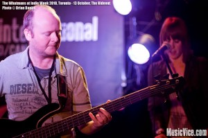 The Whatmans at The Hideout, Toronto, Indie Week 2010 - photo Brian Banks, Music Vice, All Rights Reserved
