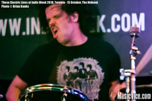 These Electric Lives at The Hideout, Toronto, Indie Week 2010 - photo Brian Banks, Music Vice, All Rights Reserved