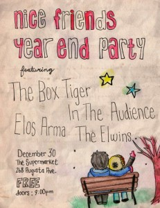 Nice Friends Year End Party poster