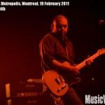 Morcheeba at Metropolis, Montreal, 19 February 2011 - photo by Liz Keith, Music Vice