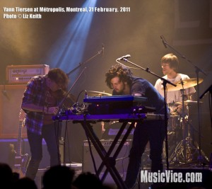 Yann Tiersen at Metropolis, Montreal - photo Liz Keith, Music Vice