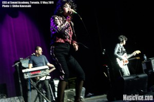 CSS at Sound Academy, Toronto, Ontario - photo by Shiho Kawasaki, Music Vice