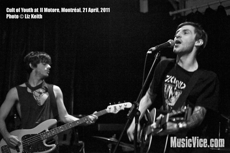 Cult of Youth at Il Motore, Montréal, 21 April 2011 - photo by Liz Keith, Music Vice