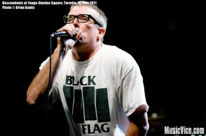 Descendents at Yonge-Dundas Square,NXNE music festival, Toronto, 16 June 2011 - photo by Brian Banks, Music Vice