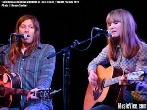 Evan Dando and Juliana Hatfield at Lee's Palace, Toronto - photo by Renee Saviour, Music Vice