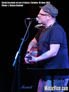 Kevin Seconds at Lee's Palace, Toronto - photo by Renee Saviour, Music Vice
