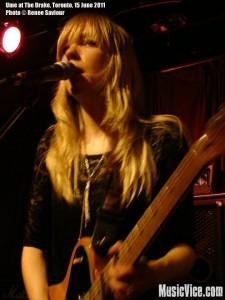 Ume at The Drake, Toronto, NXNE 2011 - photo by Renee Saviour, MusicVice.com