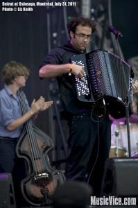 Beirut at Osheaga music festival 2011, Montreal - photo by Liz Keith, Music Vice