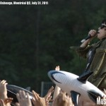 Crystal Castles at Osheaga music festival 2011, Montreal - photo by Liz Keith, Music Vice