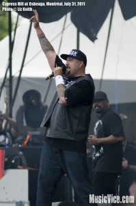 Cypress Hill at Osheaga music festival 2011, Montreal - photo by Liz Keith, Music Vice
