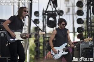 Malajube at Osheaga music festival 2011, Montreal - photo by Liz Keith, Music Vice